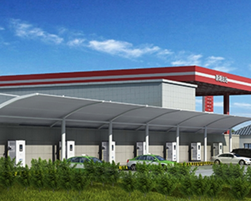 BDcharge Huahu Petrochemical Gas Station Charging Station Construction Project