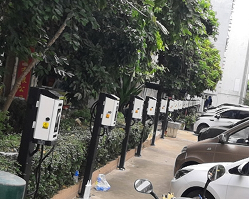 BDcharge in Nangang Second Industrial Zone, Nanshan, Shenzhen, China was put into operation