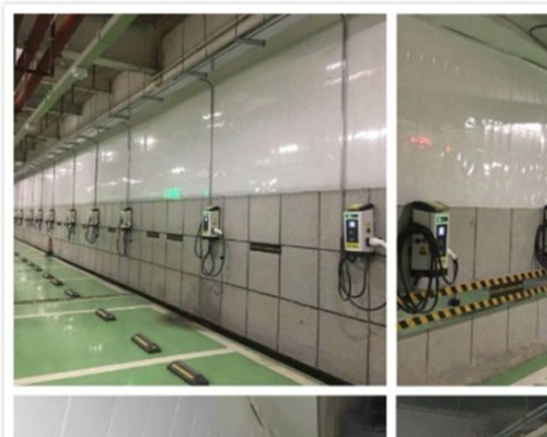 BDcharge Futian District Electronic Technology Building charging station project put into operation